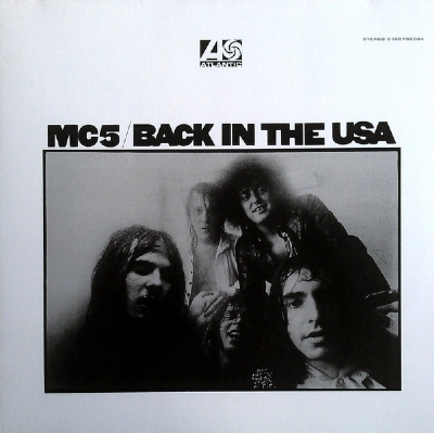 DISCO DE VINIL NOVO - MC5 - BACK IN THE USA LP 180 G