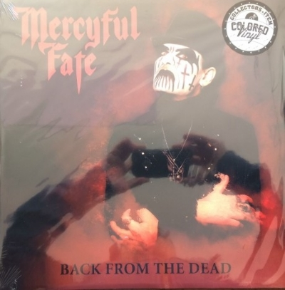 DISCO DE VINIL NOVO - MERCYFUL FATE - BACK FROM THE DEAD LP COLORIDO