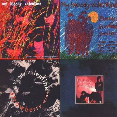 DISCO DE VINIL NOVO - MY BLOODY VALENTINE - KISS THE ECLIPSE : EP´S 1986 - 1987 LP COLORIDO
