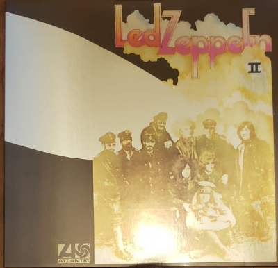 DISCO DE VINIL NOVO - LED ZEPPELIN - LED ZEPPELIN II METALLIC