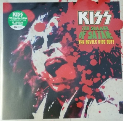DISCO DE VINIL NOVO - KISS - THE SUMMER OF SATAN: THE DEVILS RIDE OUT! LP DUPLO COLORIDO