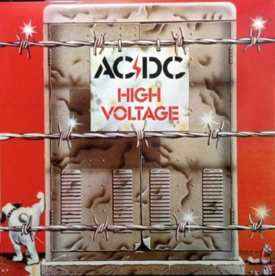 DISCO DE VINIL NOVO - AC/DC - HIGH VOLTAGE AUSTRALIAN VERSION LP COLORIDO