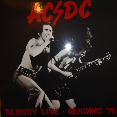 DISCO DE VINIL NOVO - AC/DC - BLOODY LIVE - READING ´76 LP COLORIDO