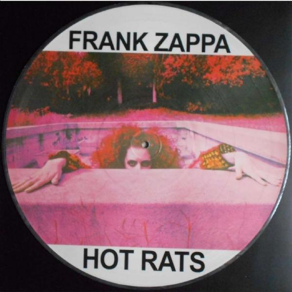 Disco De Vinil Novo - Frank Zappa - Hot Rats Lp Picture Disc