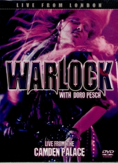 DVD - WARLOCK WITH DORO PESCH - LIVE FROM THE CAMDEN PALACE