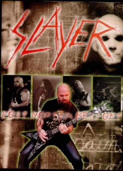 DVD - SLAYER - POST MORTEM BELFORT