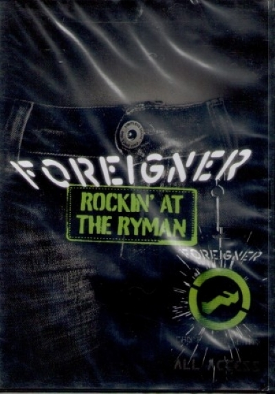 DVD - FOREIGNER - ROCKIN´ AT THE RYMAN