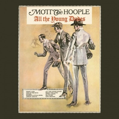 DISCO DE VINIL NOVO - MOTT THE HOOPLE - ALL THE YOUNG DUDES LP 180 G
