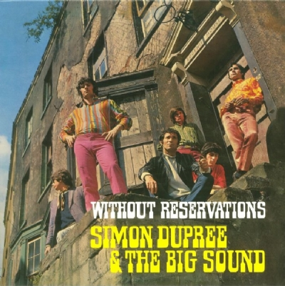DISCO DE VINIL NOVO - SIMON DUPREE & THE BIG SOUND - WITHOUT RESERVATIONS LP 180 G