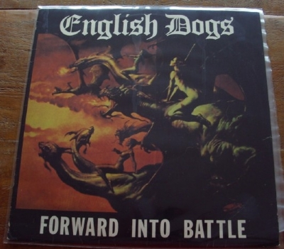 DISCO DE VINIL USADO - ENGLISH DOGS - FORWARD INTO BATTLE LP