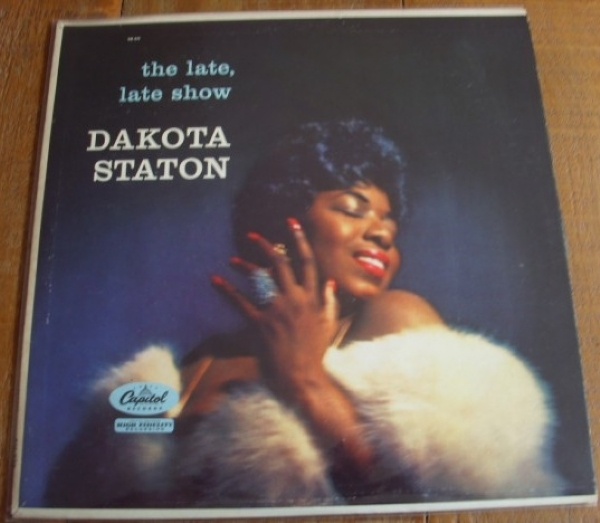 DISCO DE VINIL USADO - DAKOTA STATON - THE LATE, LATE SHOW LP