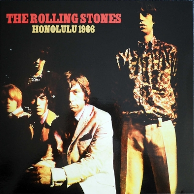 DISCO DE VINIL NOVO - THE ROLLING STONES - HONOLULU 1966 LP COLORIDO