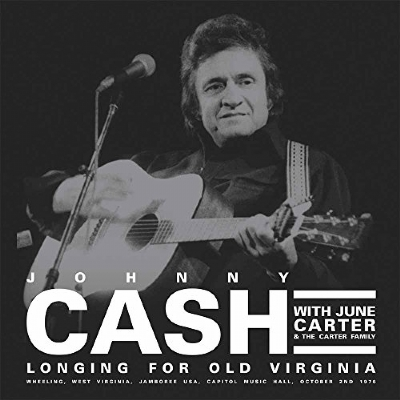 DISCO DE VINIL NOVO - JOHNNY CASH - LONGING FOR OLD VIRGINIA LP DUPLO 180 G