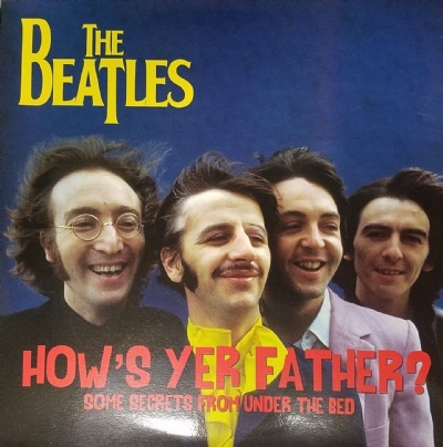 DISCO DE VINIL NOVO - THE BEATLES - HOW´S YER FATHER? LP COLORIDO