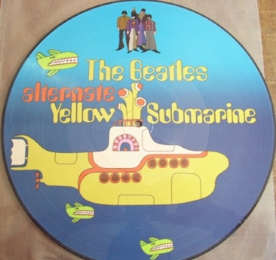 DISCO DE VINIL NOVO - THE BEATLES - ALTERNATE YELLOW SUBMARINE LP PICTURE DISC