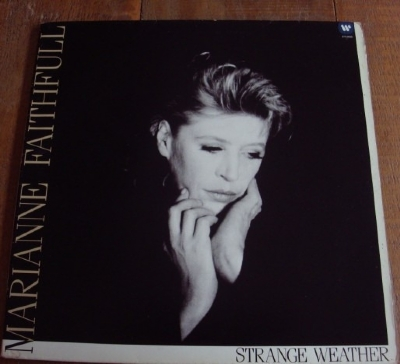 DISCO DE VINIL USADO - MARIANNE FAITHFULL - STRANGE WEATHER LP