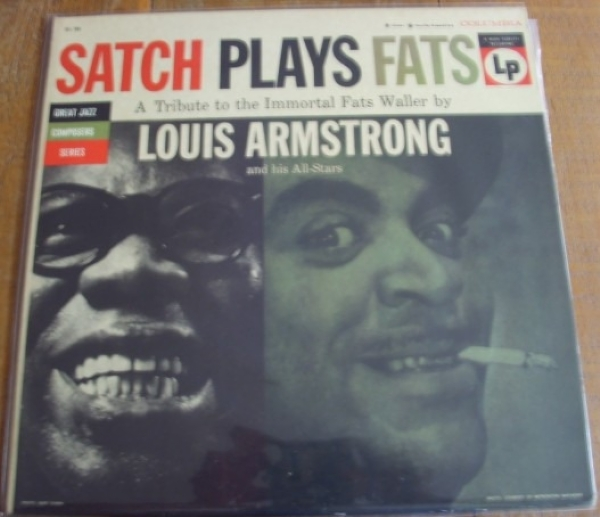 DISCO DE VINIL USADO - LOUIS ARMSTRONG - SATCH PLAYS FATS LP