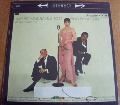 DISCO DE VINIL USADO - LAMBERT, HENDRICKS AND ROSS - SING ELLINGTON LP