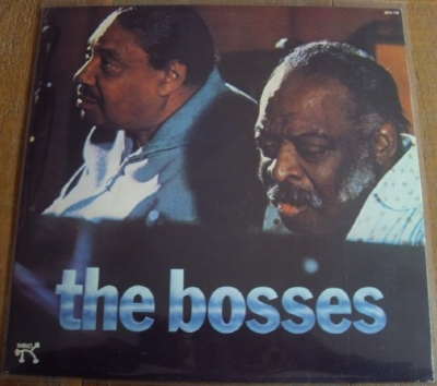 DISCO DE VINIL USADO - JOE TURNER / COUNT BASIE - THE BOSSES LP