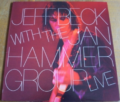 DISCO DE VINIL USADO - JEFF BECK WITH THE JAN HAMMER GROUP - LIVE LP