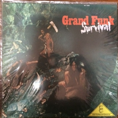 DISCO DE VINIL USADO - GRAND FUNK RAILROAD - SURVIVAL LP