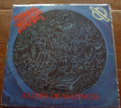 DISCO DE VINIL USADO - MORBID ANGEL - ALTARS OF MADNESS LP