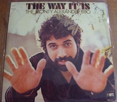DISCO DE VINIL USADO - THE MONTY ALEXANDER TRIO - THE WAY IT IS LP