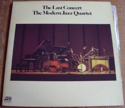 DISCO DE VINIL USADO - THE MODERN JAZZ QUARTET - THE LAST CONCERT - PRESENTING LP DUPLO
