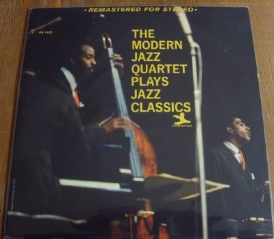 DISCO DE VINIL USADO - THE MODERN JAZZ QUARTET - PLAYS JAZZ CLASSICS LP