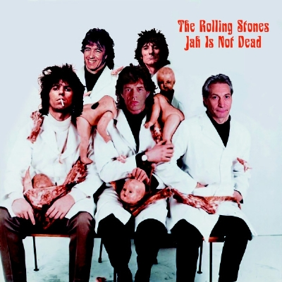 DISCO DE VINIL NOVO - THE ROLLING STONES - JAH IS NOT DEAD LP