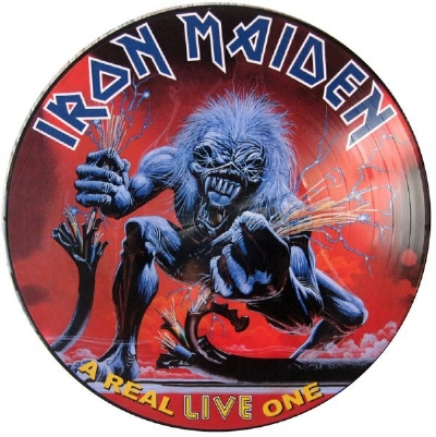 DISCO DE VINIL NOVO - IRON MAIDEN - A REAL LIVE ONE LP PICTURE DISC