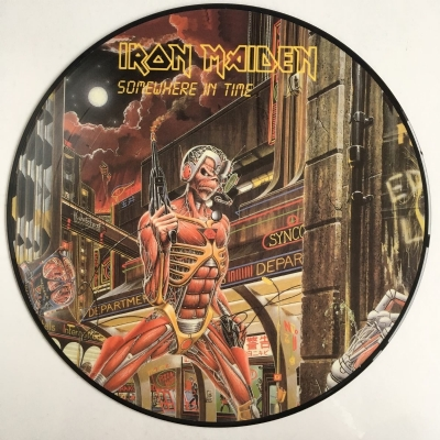 DISCO DE VINIL NOVO - IRON MAIDEN - SOMEWHERE IN TIME LP PICTURE DISC