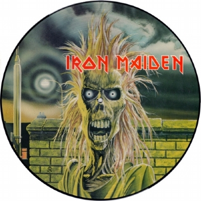 Disco De Vinil Novo - Iron Maiden - Iron Maiden 1980 Lp Picture Disc
