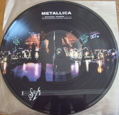 DISCO DE VINIL NOVO - METALLICA - S&M LP PICTURE DISC