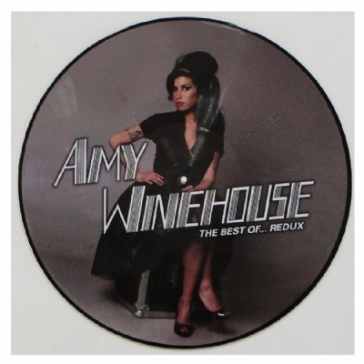 DISCO DE VINIL NOVO - AMY WINEHOUSE - THE BEST OF...REDUX LP PICTURE DISC