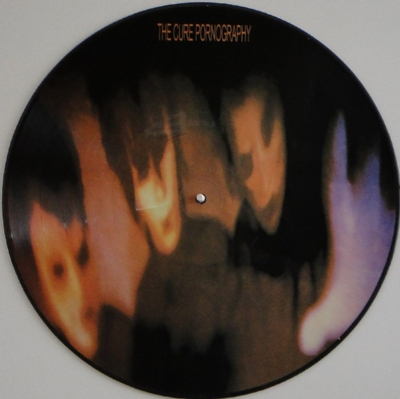 DISCO DE VINIL NOVO - THE CURE - PORNOGRAPHY LP PICTURE DISC