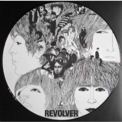 Disco De Vinil Novo - The Beatles - Revolver Lp Picture Disc