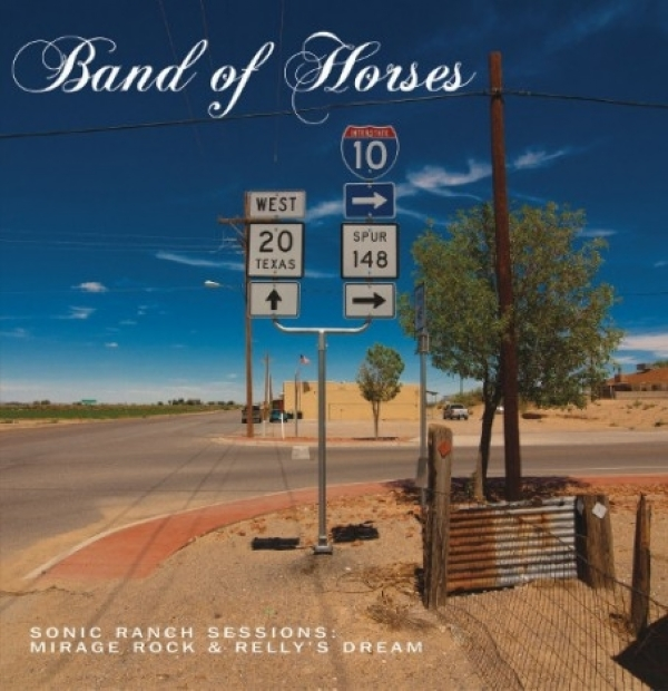 SINGLE DE VINIL NOVO - BAND OF HORSES - MIRAGE ROCK / KELLY´S DREAM