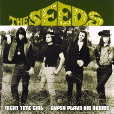 SINGLE DE VINIL NOVO - THE SEEDS - NIGHT TIME GIRL / GYPSY PLAYS HIS DRUMS