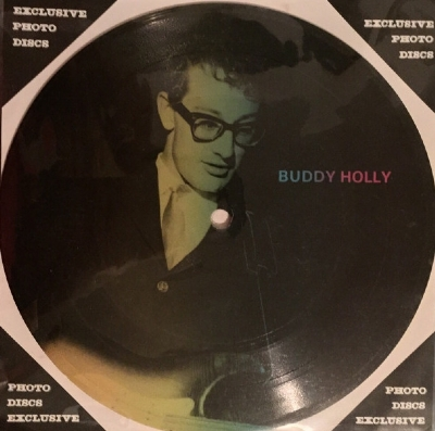 SINGLE DE VINIL NOVO - BUDDY HOLLY - PEGGY SUE / WELL ALRIGHT PICTURE DISC