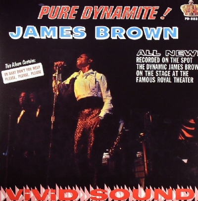 DISCO DE VINIL NOVO - JAMES BROWN - PURE DYNAMITE! LIVE AT THE ROYAL LP 180 G