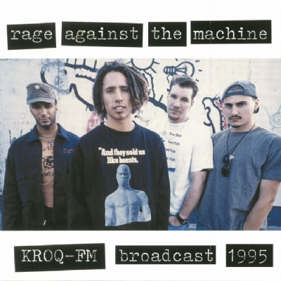 DISCO DE VINIL NOVO - RAGE AGAINST THE MACHINE - KROQ-FM BROADCAST 1995 LP 180 G