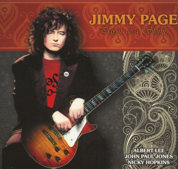 DISCO DE VINIL NOVO - JIMMY PAGE - PLAYIN´UP A STORM LP COLORIDO