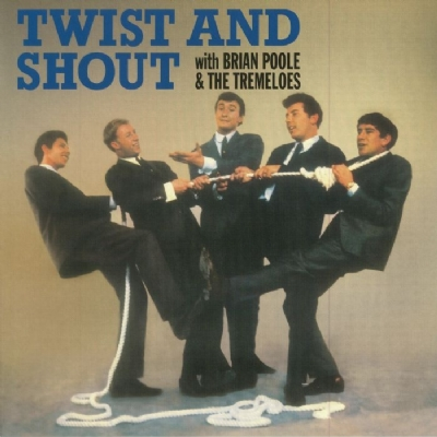 DISCO DE VINIL NOVO - BRIAN POOLE & THE TREMELOES - TWIST AND SHOUT LP 180 G