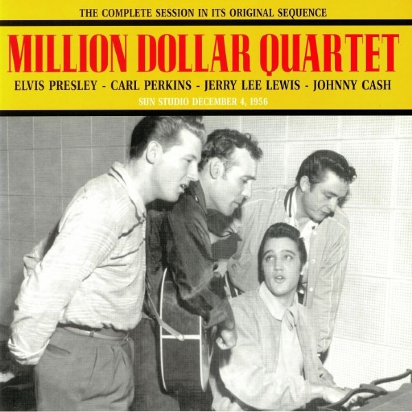 Disco de vinil novo - The Million Dollar Quartet LP 180 g
