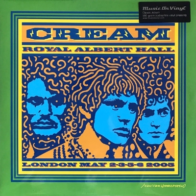 DISCO DE VINIL NOVO - CREAM - ROYAL ALBERT HALL 2005 LP TRIPLO 180 G