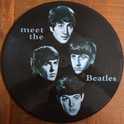 Disco de vinil novo - The Beatles - Meet The Beatles LP picture disc