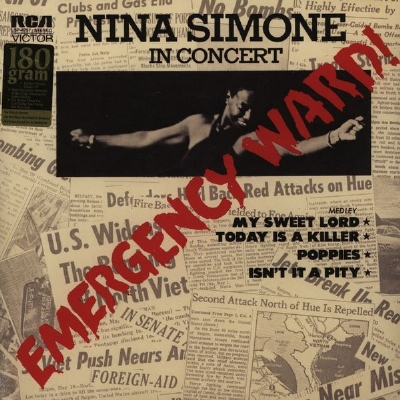 DISCO DE VINIL NOVO - NINA SIMONE - EMERGENCY WARD! LP 180 G