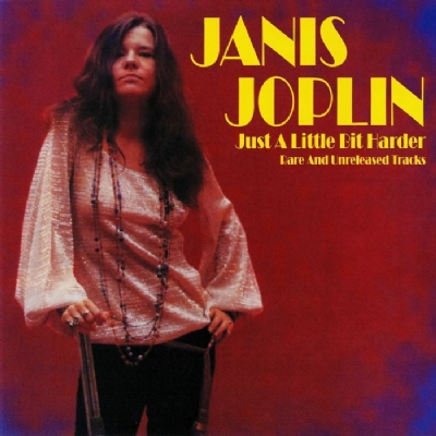 DISCO DE VINIL NOVO - JANIS JOPLIN - JUST A LITTLE BIT HARDER LP 180 G