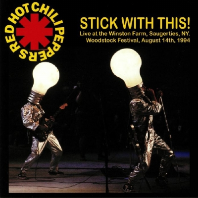 DISCO DE VINIL NOVO - RED HOT CHILI PEPPERS - STICK WITH THIS LP 180 G